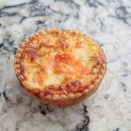 Quiche saumon