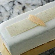 Cake vanille cassis