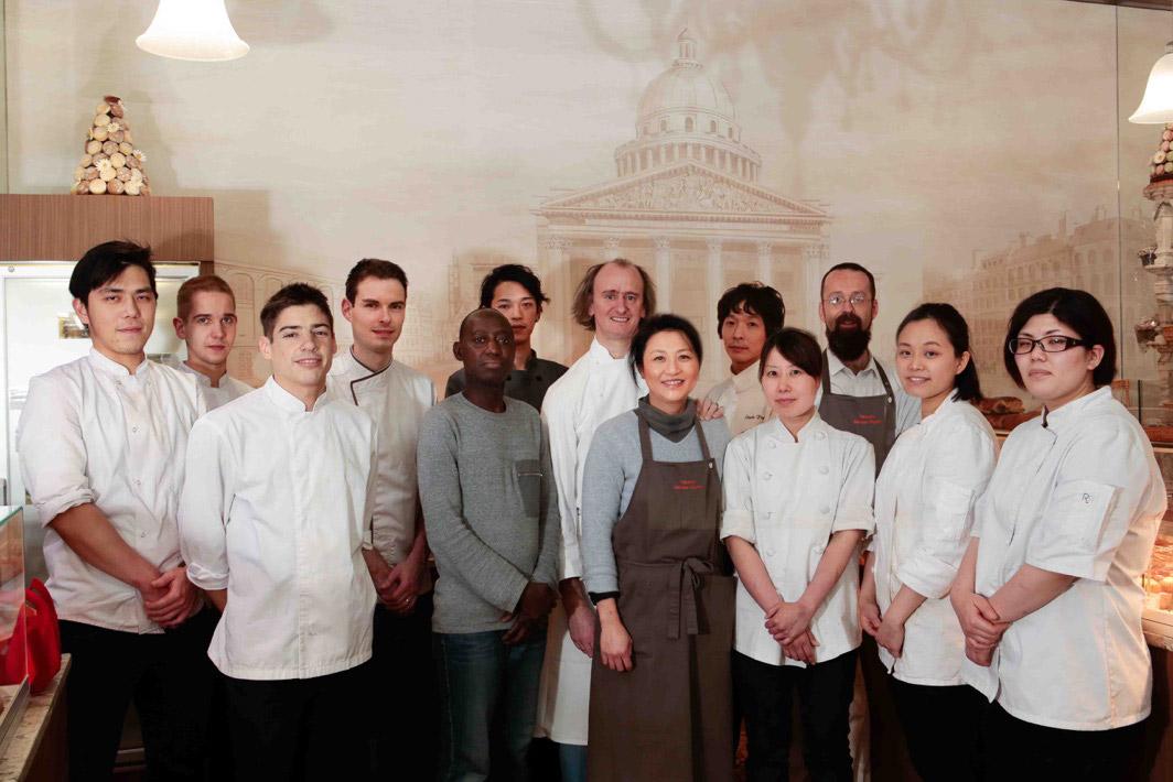 Équipe de la pâtisserie Dégardin