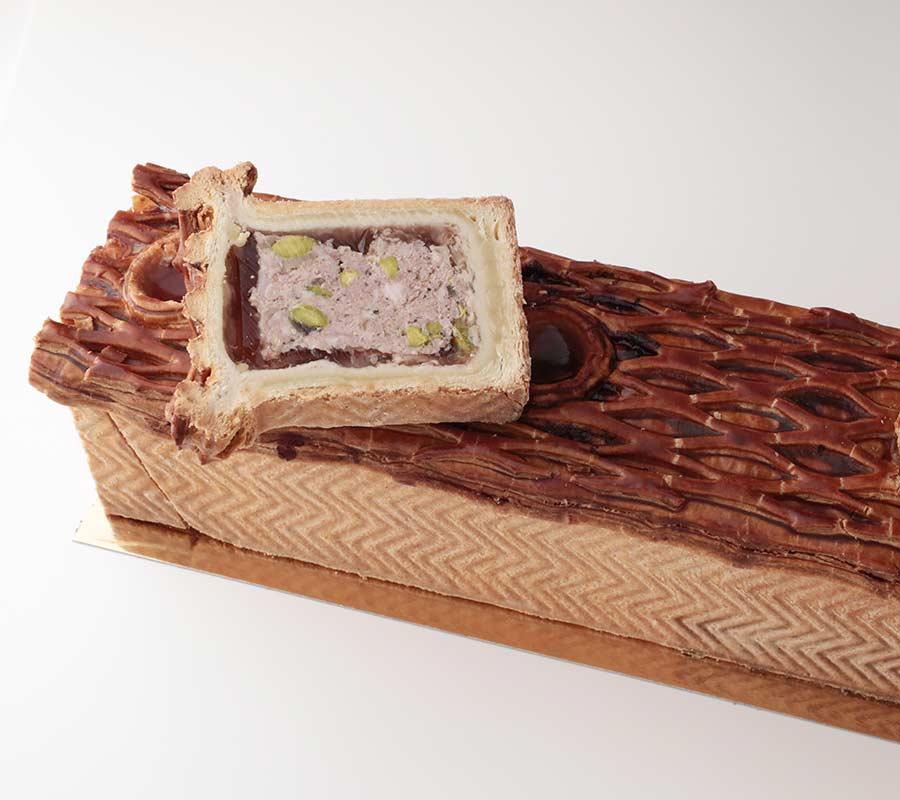 Pâté en croûte volaille et pistache signé Dégardin